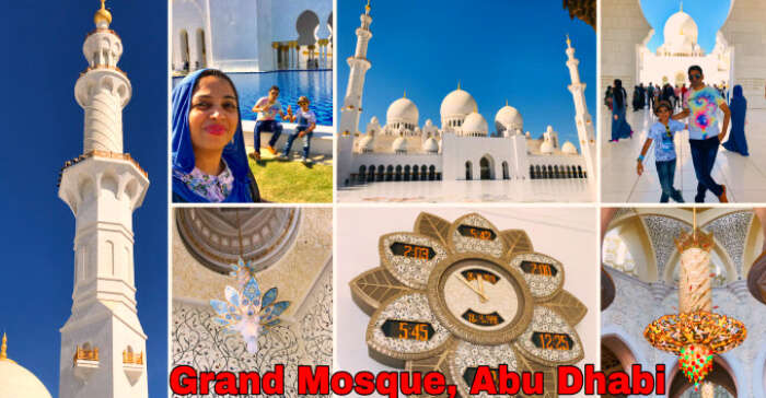 Visit to the Grand Mosque