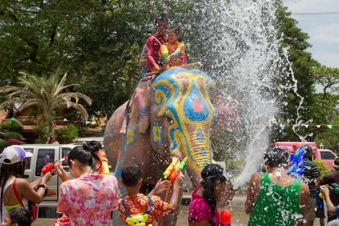Highlights Of The Water Festival In Thailand 2019