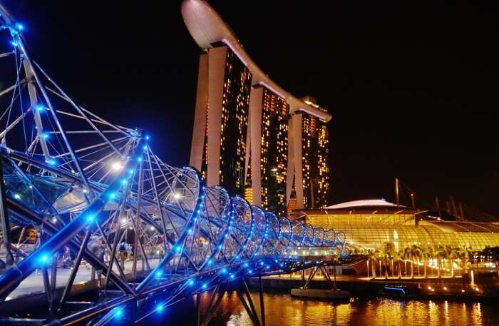 How To Reach Helix Bridge In Singapore