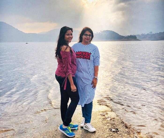 the biggest man-made lake in Meghalaya