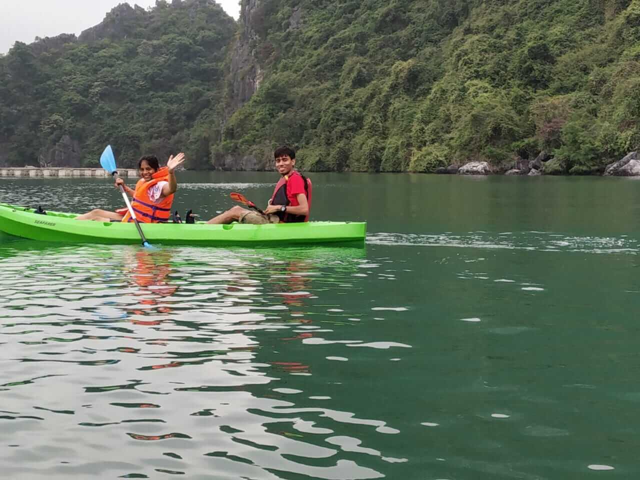 enjoy kayaking