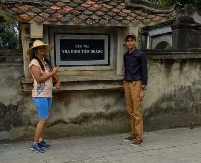 reached the historic city of Vietnam