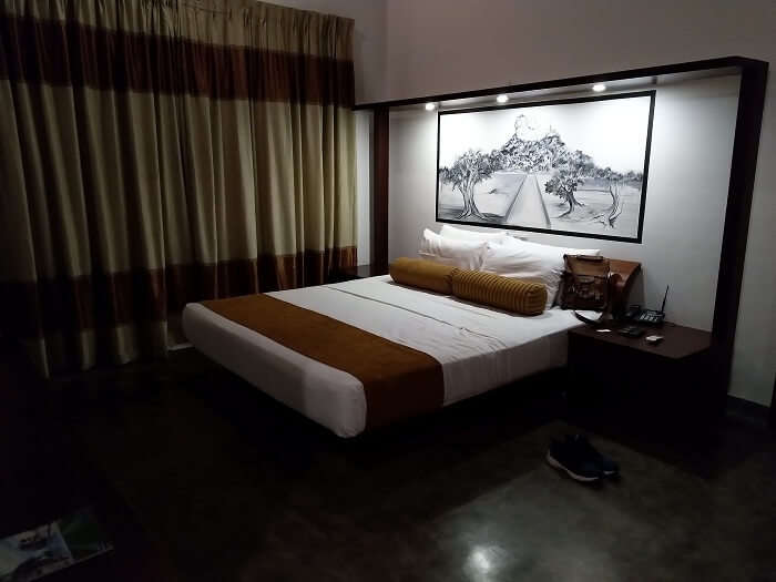 reached the room
