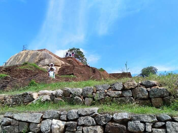we visited the Dambulla Rock