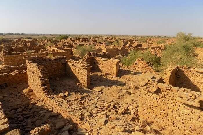 Kuldhara Village in Jaisalmer