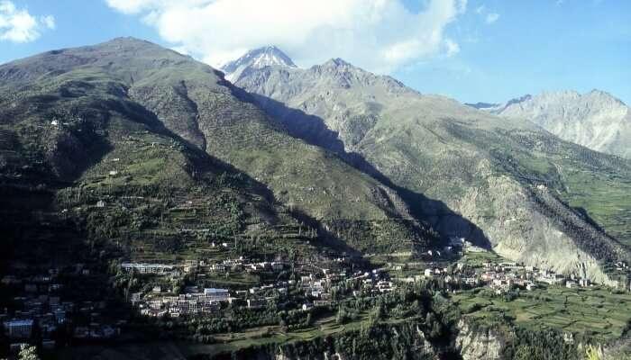 Mountains at Kyelong