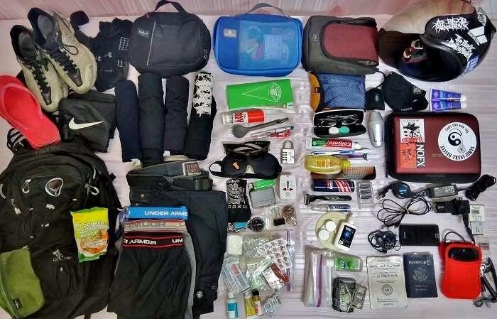 packing list for leh