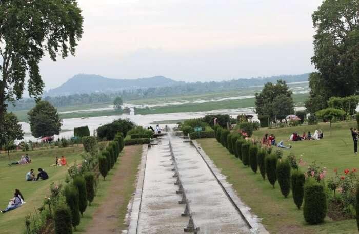 Mughal Gardens View