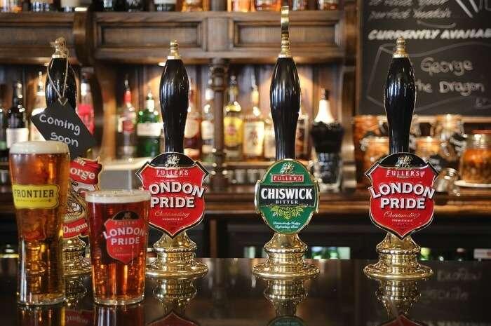 Beer Pub Bar London England