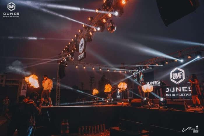 A previous Dunes Music Fest