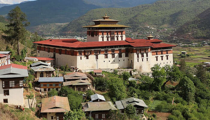 View Of The Rinpung Dzong