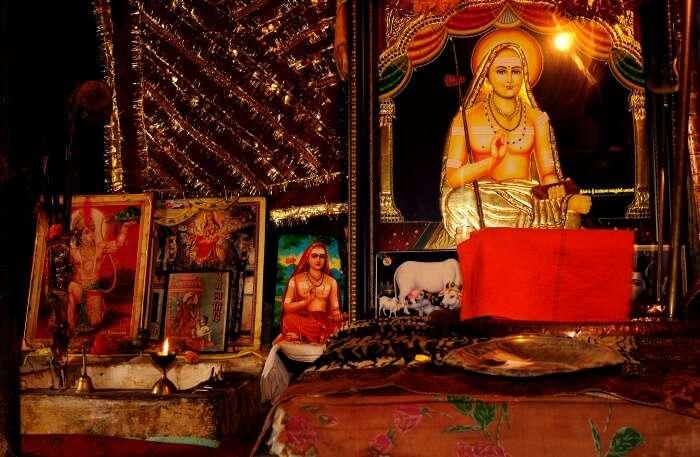 Shankaracharya Temple Inside view