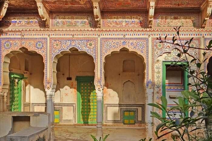 Sneh Ram Ladias Haveli Shekhawati city Rajasthan