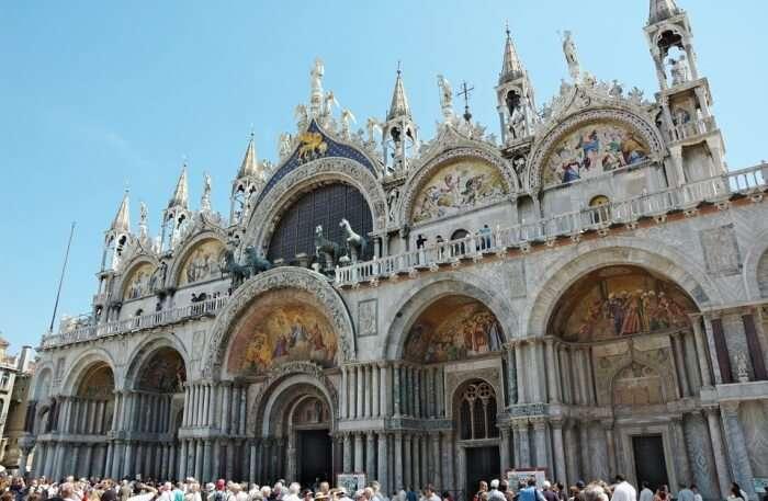 St Mark's Basilica View
