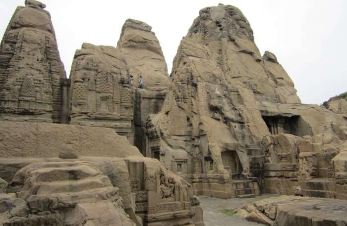 Bus Tour To Rock Temples