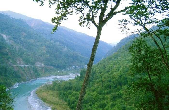 Teesta River in Sikkim