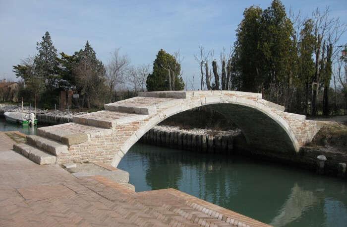 Lake and bridge view
