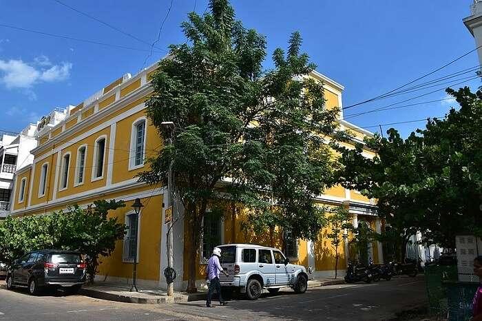 Visit White Town in Pondicherry