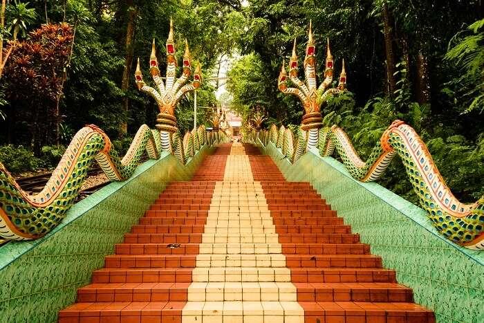 Wat Khao Sukim In Chanthaburi
