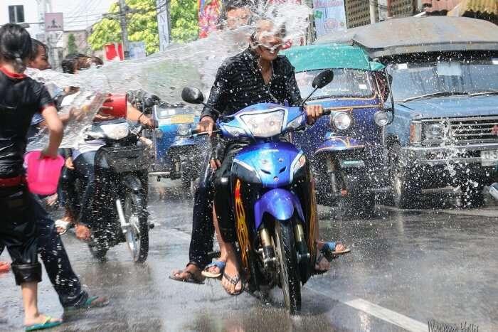 Water Festival Thailand 2019 In Bangkok