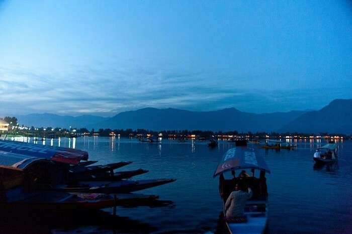 beautiful view of srinagar