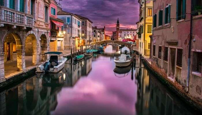 a view of lake in Venice