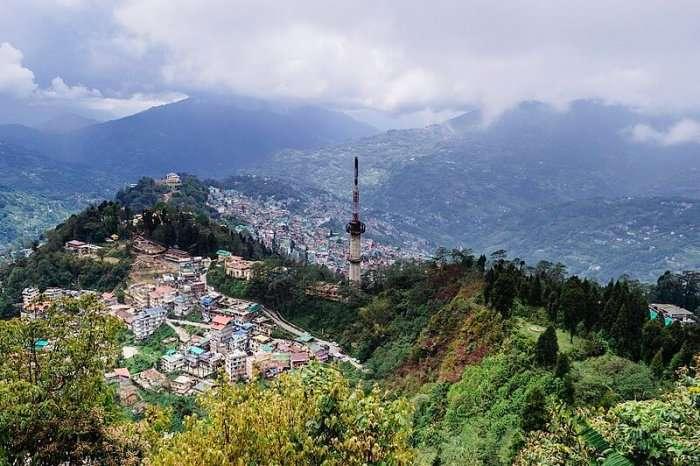 overview of gangtok city