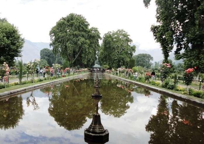 view of beautiful shalimar garden