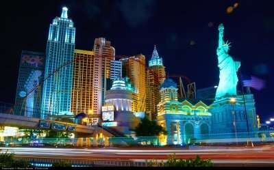 nightlife of vegas