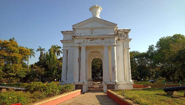Aayi memorial in Pondicherry