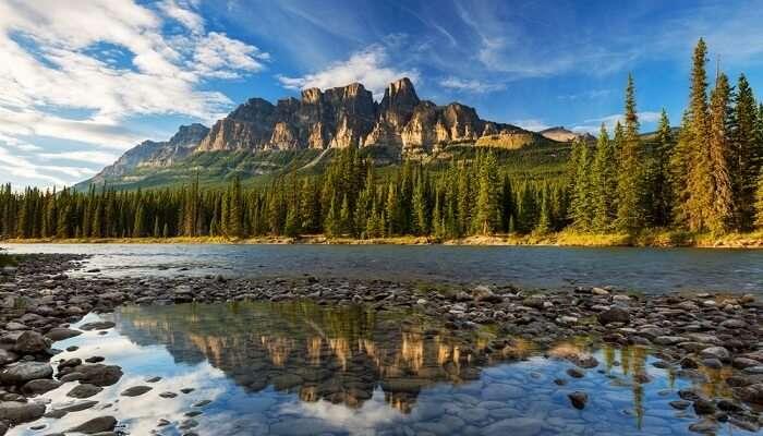 The Castle Mountain Canada