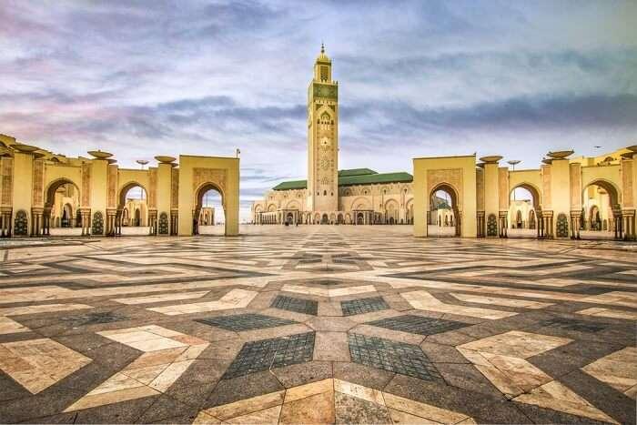 hasan mosque in casablanca