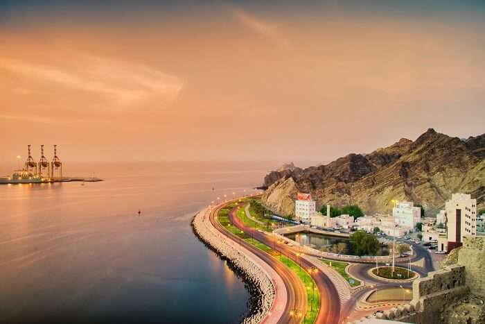 famous place in Oman