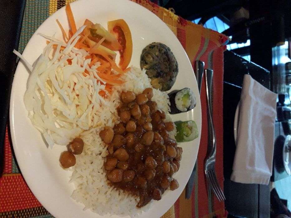 resort offered the Indian food