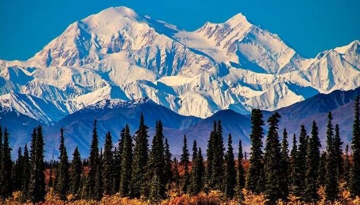 Denali Peak Alaska
