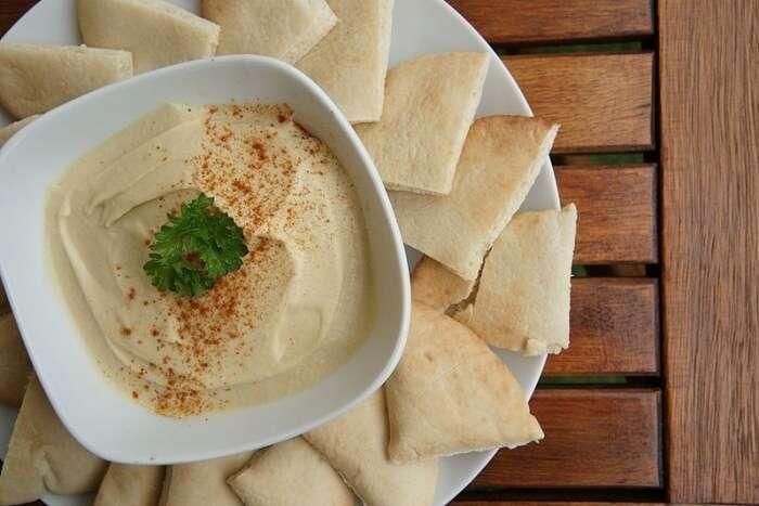 Do not JUST eat hummus and pita