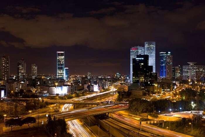 Do not miss Tel Aviv at night