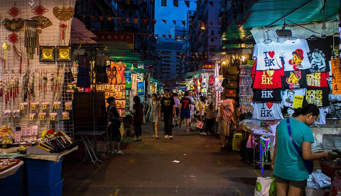 Street Market of Hong Kong