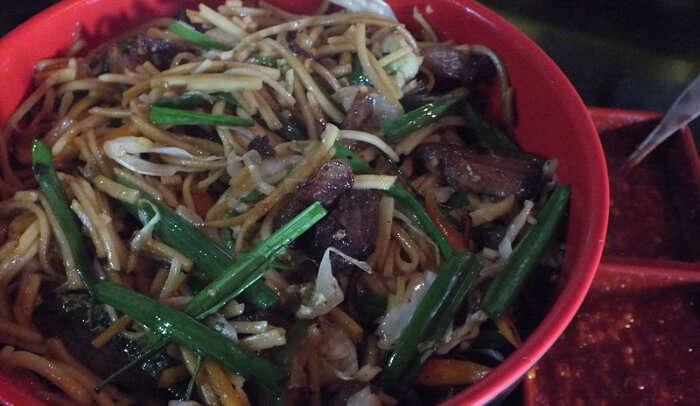 Dragon Restaurant in Tawang