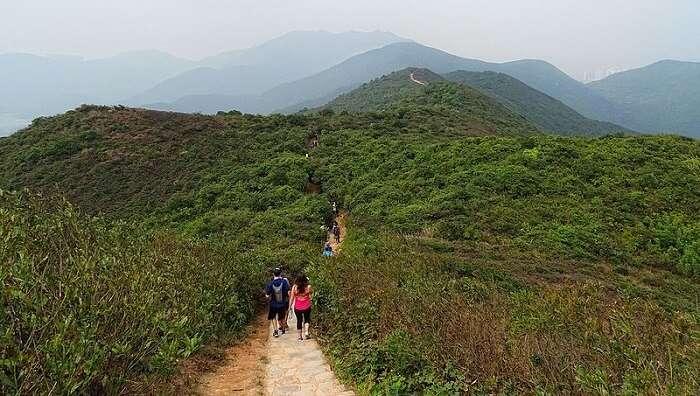 dragon back trail HK