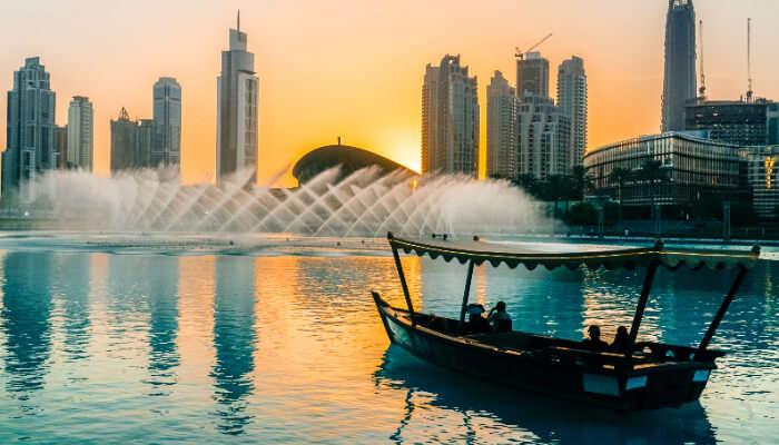 Beautiful View of Dubai