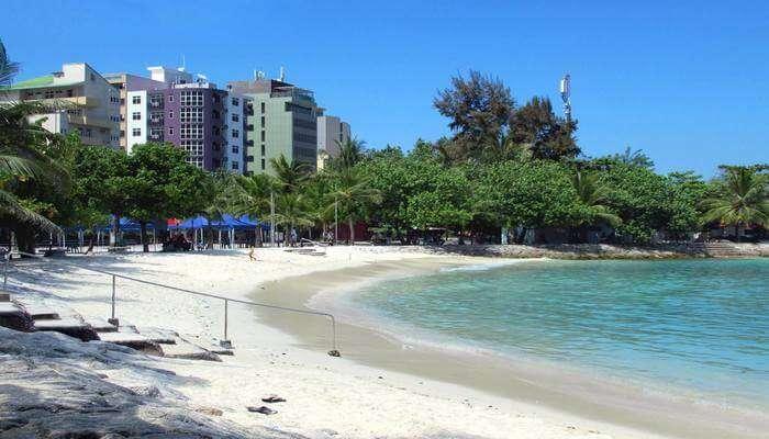 Enjoy a break from the hustle & bustle at Artificial Beach