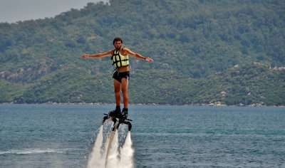 Water Sports Extreme Flyboarding Sea Jets