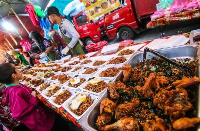 Night Market in Cameron Highlands, Malaysia