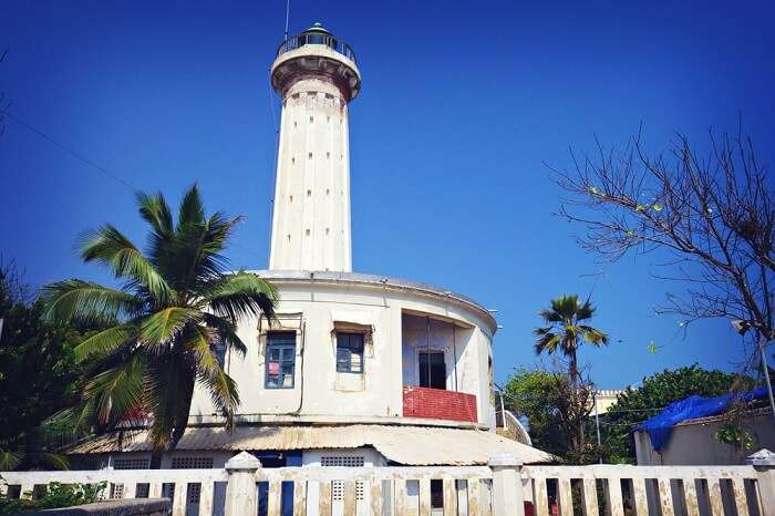 Old Lighthouse in Pondicherry