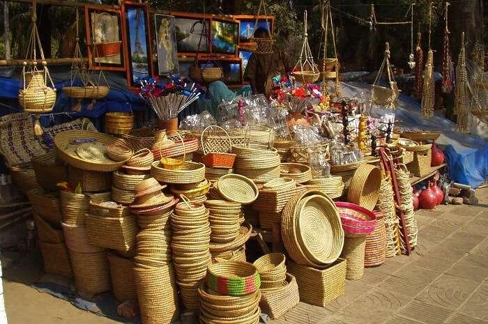 Pondy Bazaar in Pondicherry