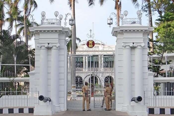 Raj Niwas in Pondicherry