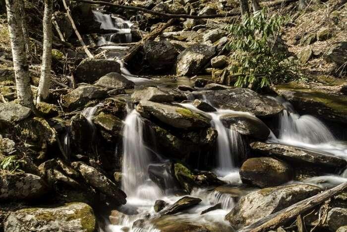 Siruvani Waterfalls near Mysore