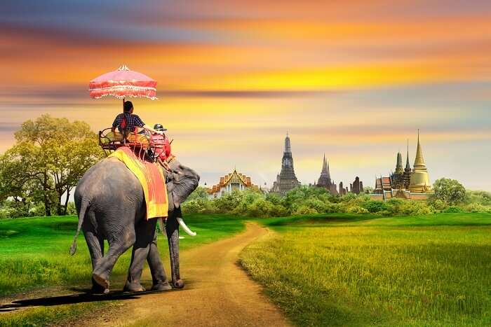 famous place in Thailand