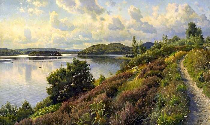 The Lake Highlands in Denmark